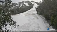 Archiv Foto Webcam Mt Buller: Abfahrt Little Buller Spur 02:00