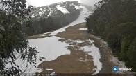 Archiv Foto Webcam Mt Buller: Abfahrt Little Buller Spur 06:00