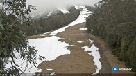 Archiv Foto Webcam Mt Buller: Abfahrt Little Buller Spur 10:00