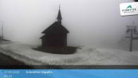 Archiv Foto Webcam Schmittenhöhe: Kapelle 22:00