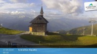 Archived image Webcam Schmittenhöhe: View Chapel 02:00