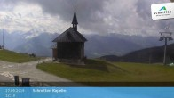 Archived image Webcam Schmittenhöhe: View Chapel 06:00