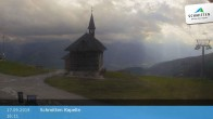 Archived image Webcam Schmittenhöhe: View Chapel 10:00