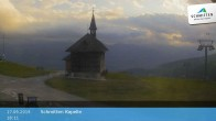 Archived image Webcam Schmittenhöhe: View Chapel 12:00