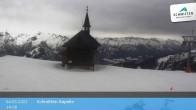 Archiv Foto Webcam Schmittenhöhe: Kapelle 08:00