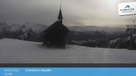 Archiv Foto Webcam Schmittenhöhe: Kapelle 10:00
