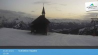 Archiv Foto Webcam Schmittenhöhe: Kapelle 12:00