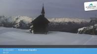 Archiv Foto Webcam Schmittenhöhe: Kapelle 00:00