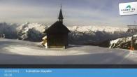 Archiv Foto Webcam Schmittenhöhe: Kapelle 02:00