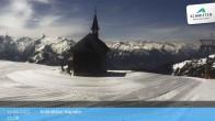 Archiv Foto Webcam Schmittenhöhe: Kapelle 06:00
