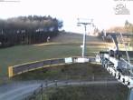 Archiv Foto Webcam Winterberg: Slalomhang im Skiliftkarussel 04:00