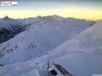 Archived image Webcam Mountain restaurant Kapall 07:00