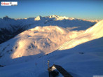 Archived image Webcam Mountain restaurant Kapall 05:00