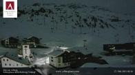 Archiv Foto Webcam Hotel Arlberghaus in Zürs mit Blick auf den Weltcuphang 20:00