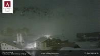 Archiv Foto Webcam Hotel Arlberghaus in Zürs mit Blick auf den Weltcuphang 22:00
