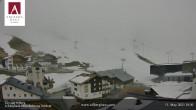 Archiv Foto Webcam Hotel Arlberghaus in Zürs mit Blick auf den Weltcuphang 12:00