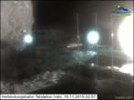 Archiv Foto Webcam Verbindungsbahn Talstation Vals 23:00