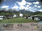 Archiv Foto Webcam Maria Alm: Mountain Resort Hochkönigin 08:00