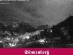 Archiv Foto Webcam Hotel Sonnenberg Hirschegg 20:00