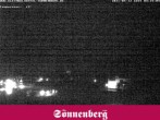 Archiv Foto Webcam Hotel Sonnenberg Hirschegg 22:00