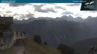 Archived image Webcam middle station Fellhornbahn 04:00