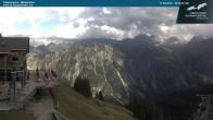 Archived image Webcam middle station Fellhornbahn 10:00