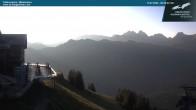 Archived image Webcam middle station Fellhornbahn 00:00