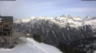 Archiv Foto Webcam Mittelstation Fellhornbahn 15:00