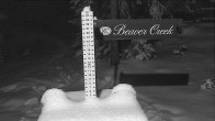Archiv Foto Webcam Beaver Creek Schneehöhe 18:00