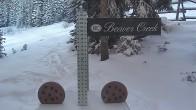 Archiv Foto Webcam Beaver Creek Schneehöhe 02:00