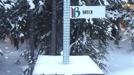 Archiv Foto Webcam Schneehöhe Breckenridge 02:00