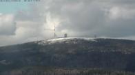 Archiv Foto Webcam Wurmberg: Nordhang / Blick zum Brocken 10:00