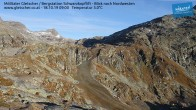 Archiv Foto Webcam Mölltaler Gletscher: Schwarzkopflift 02:00