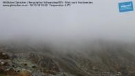 Archiv Foto Webcam Mölltaler Gletscher: Schwarzkopflift 04:00