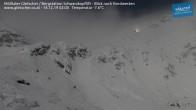 Archiv Foto Webcam Mölltaler Gletscher: Schwarzkopflift 20:00