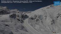 Archiv Foto Webcam Mölltaler Gletscher: Schwarzkopflift 22:00