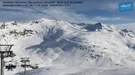 Archiv Foto Webcam Mölltaler Gletscher: Bergstation Altecklift 04:00