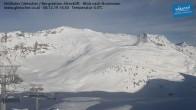 Archiv Foto Webcam Mölltaler Gletscher: Bergstation Altecklift 08:00
