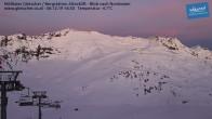 Archiv Foto Webcam Mölltaler Gletscher: Bergstation Altecklift 10:00