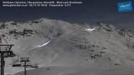 Archiv Foto Webcam Mölltaler Gletscher: Bergstation Altecklift 12:00
