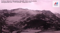 Archiv Foto Webcam Mölltaler Gletscher: Bergstation Altecklift 18:00