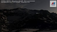 Archiv Foto Webcam Mölltaler Gletscher: Bergstation Altecklift 20:00