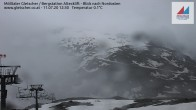 Archiv Foto Webcam Mölltaler Gletscher: Bergstation Altecklift 06:00