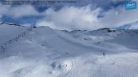 Archiv Foto Webcam Mölltaler Gletscher: Bergstation Panoramabahn Klühspies 04:00