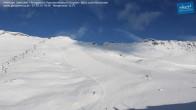 Archiv Foto Webcam Mölltaler Gletscher: Bergstation Panoramabahn Klühspies 08:00