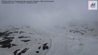 Archiv Foto Webcam Mölltaler Gletscher: Bergstation Panoramabahn Klühspies 00:00