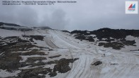 Archiv Foto Webcam Mölltaler Gletscher: Bergstation Panoramabahn Klühspies 02:00