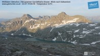 Archiv Foto Webcam Mölltaler Gletscher: Bergstation Gondelbahn Eissee 00:00