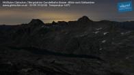 Archiv Foto Webcam Mölltaler Gletscher: Bergstation Gondelbahn Eissee 20:00