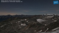 Archiv Foto Webcam Mölltaler Gletscher: Schareck 22:00